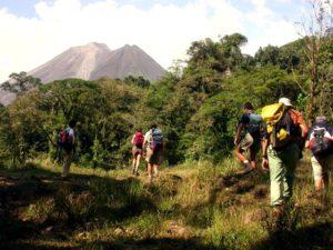 Rando vers le volcan Arenal