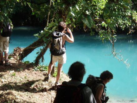 rio Azul volcan Tenorio