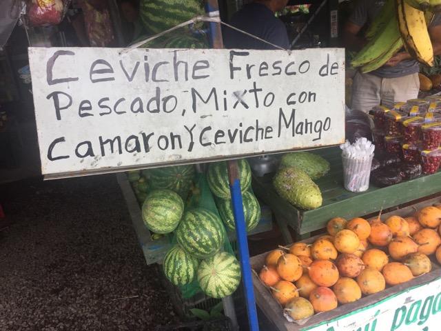 sur un marché costa rica