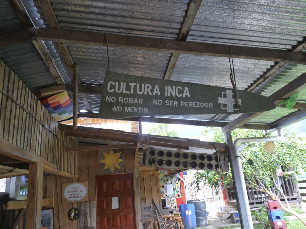 culture inca, costa rica