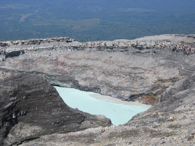 Rincon de la Vieja - cratère