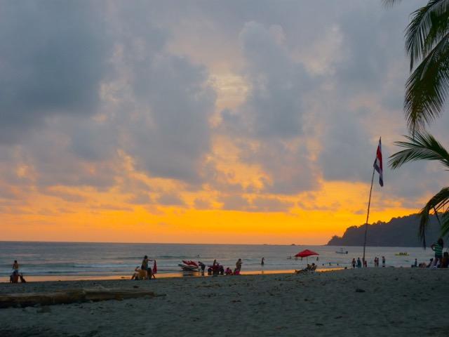 coucher soleil Manuel Antonio