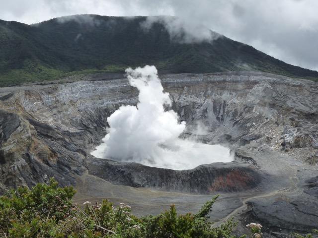 volcan Poas - cratère