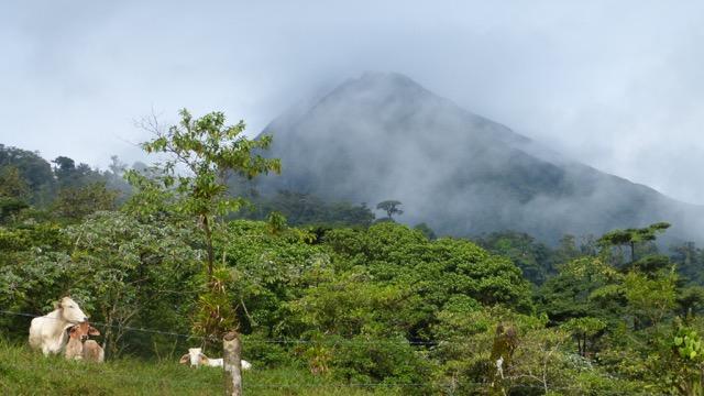 balade volcan Arenal