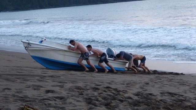 barque pêcheur Caraïbe
