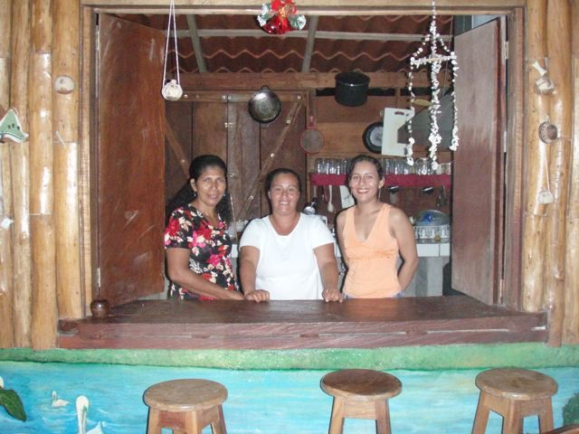Costa Rica habitantes dans leur maison
