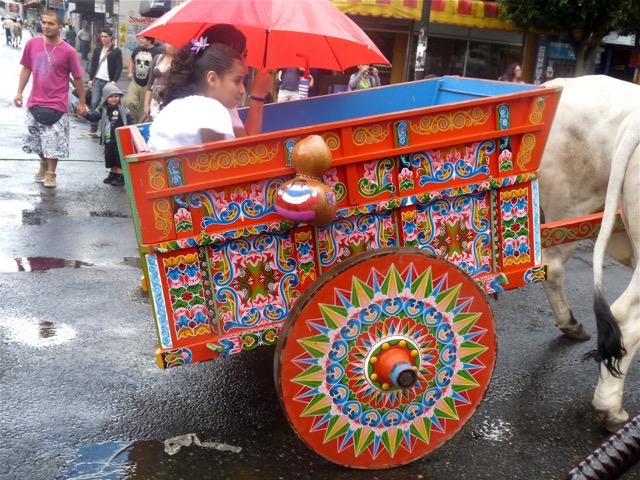 charrette décorée costa rica