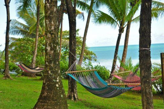 relax sur la cote pacifique
