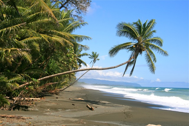 plage Caraïbes costa rica