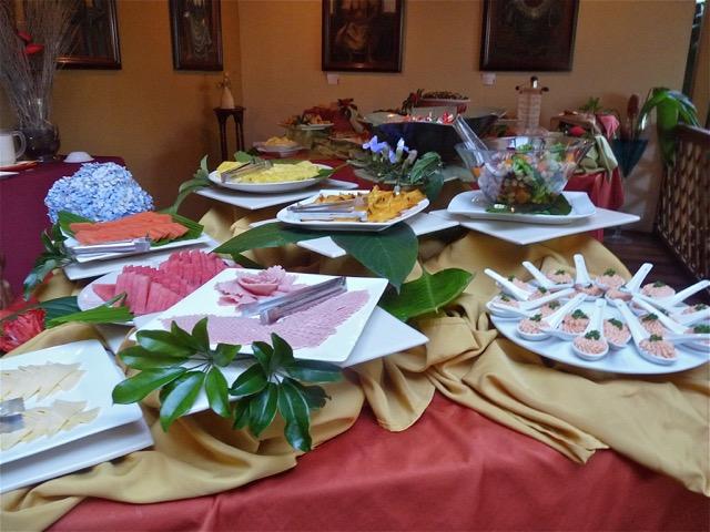 buffet petit déjeuner hotel san jose