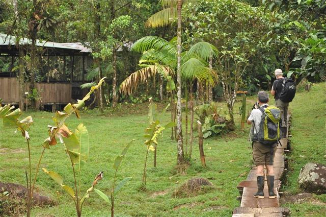 à la campagne Costa Rica