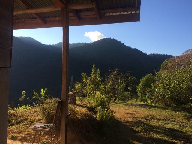 maison chez l'habitant montagne costa rica