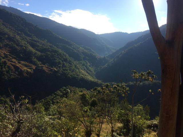 vallées montagne Cerro de la muerte