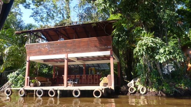 débarcadère Tortuguero