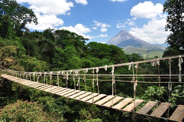 pont suspendu Arenal