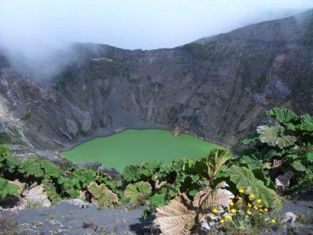 cratère volcan Irazu